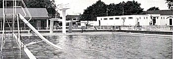 1989 – Demolished Newnham Outdoor Pool